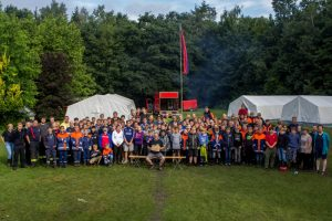 KJF Grafschaft Bentheim Zeltlager 24.-28.07.17 in Essen/Oldenburg - Gruppenbild